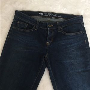 Dark Wash Gap Bootcut Jeans